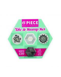 Geometric Stamp & Die Set