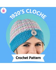 1920's Cloche Crochet Pattern