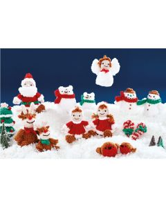 Rudolph and Friends Yarn Kit