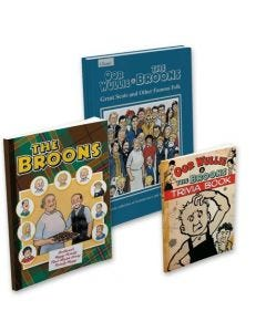 The Broons & Oor Wullie Book Pack with Trivia Book