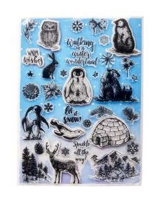Winter Woodland Stamp Set