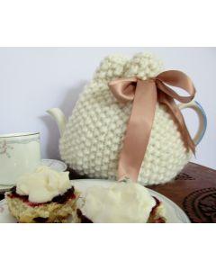 Chunky Moss Stitch Tea Cosy Pattern