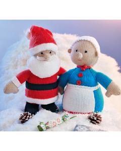 Santa & Mrs Claus Knitting Kit