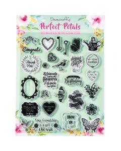 Dovecraft Perfect Petals Stamp Set