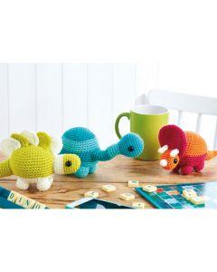Desk Dinos Crochet Pattern
