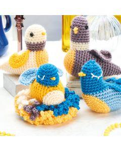 Family of Birds Crochet Pattern