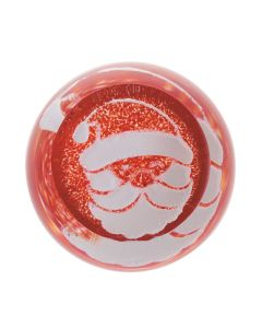 Father Chrismas Red Paperweight