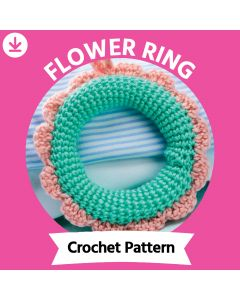 Flower Ring Crochet Pattern