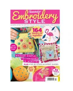 Homemaker Embroidery Style Bookazine