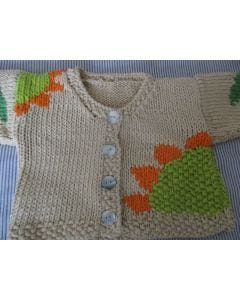Sunflower Baby Cardigan Pattern