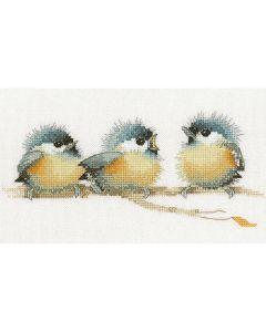 Valerie Pfeiffer: Sitting Pretty Counted Cross Stitch Kit