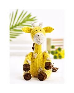 Geoff the Giraffe Yarn Kit