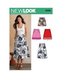 New Look Skirt Pattern 6106