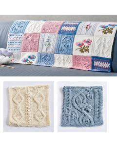 Debbie Bliss Primavera Blanket Pattern Part 3
