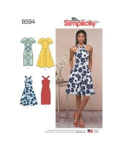 Simplicity Dress Pattern 8594