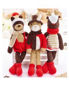 The Woodland Trio Knit Kit