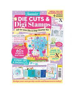 Die Cuts and Digi Stamps