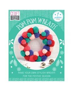 Pom Pom Wreath Pattern