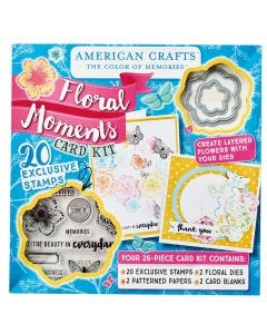 American Crafts Floral Moments Card Kit