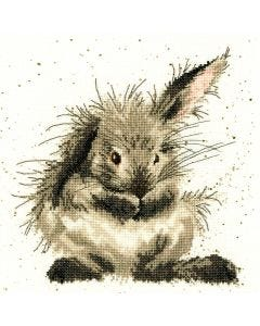Wrendale Counted Cross Stitch: Bunny