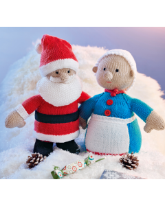 Santa & Mrs Claus Knitting Kit