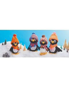 Penguin Family Crochet Kit