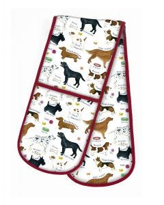 Dog Breeds Double Oven Glove
