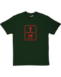 Fairway and Ball Golf T-Shirt