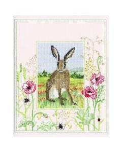 Hare Counted Cross-Stitch Picture Kit