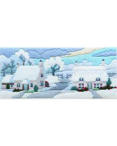 Snowy Lane Long Stitch Kit