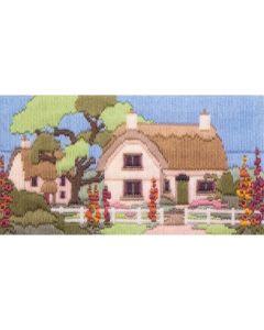 Hollyhock Lane Long Stitch Kit