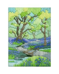 Spring Walk Long Stitch Picture Kit