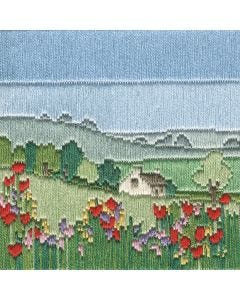 The Meadow Silken Long Stitch Kit