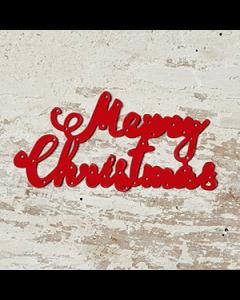 Large Merry Christmas Die