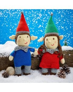 Nutmeg & Noel The Elves Crochet Kit