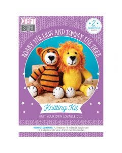 Roary the Lion and Tommy the Tiger Pattern