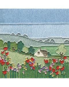 Silken Long Stitch: Meadow