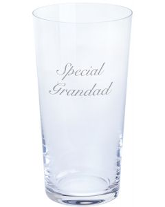 Dartington Pint Glass - Special Grandad