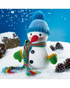 Stanley The Snowman Crochet Kit