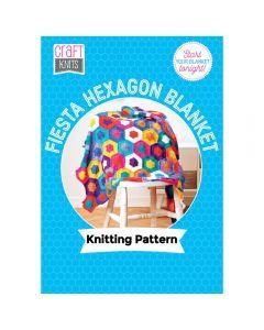 Fiesta Hexagon Blanket Pattern