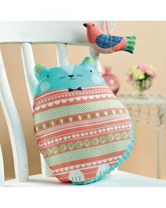 Cedric the Cat & Olive the Owl Cushion Kit