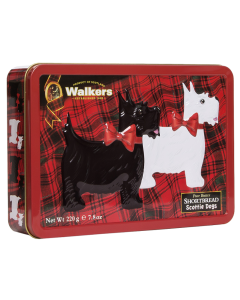 Walkers Scottie Shortbread Tin