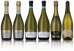 Classic Prosecco Mixed Selection (6 bottles)