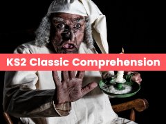 KS2 Classic Text Reading Comprehension Pack: The Invisible Man, A Christmas Carol, and the Adventures of Tom Sawyer