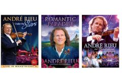 André Rieu: In Wonderland, Under The Stars & Romantic Paradise DVD Three Pack
