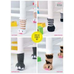 Animal Chair Leg Covers Knitting Pattern