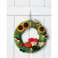 Autumn Wreath Knitting Pattern
