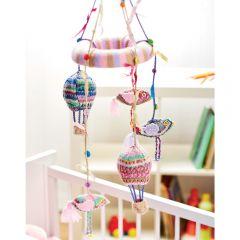 Birds & Balloons Baby Mobile Knitting Pattern