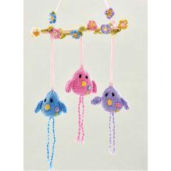 Birdy Wall Hanging Knitting Pattern