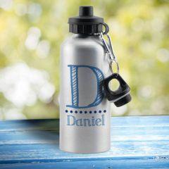 Blue Name Drinks Bottle
